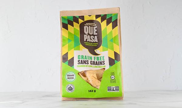 Organic Grain Free Chips - Lime