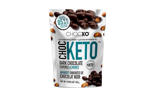 ChocKETO Dark Chocolate Covered Almonds