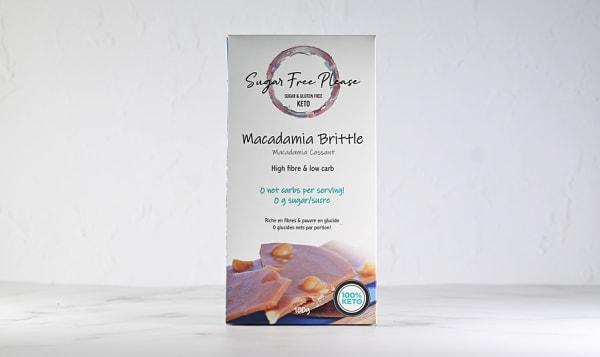 Macadamia Brittle - Keto