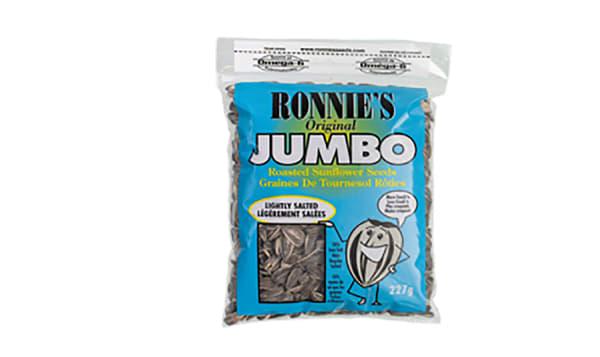 Ronnies - Jumbo Sunflower Seeds, Lightly Salted