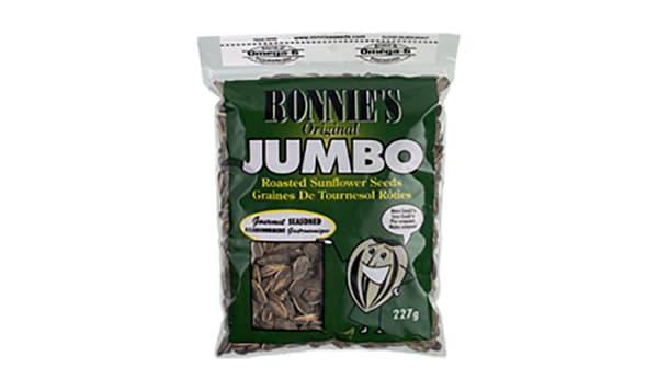 Ronnies - Jumbo Sunflower Seeds, Salt & Pepper