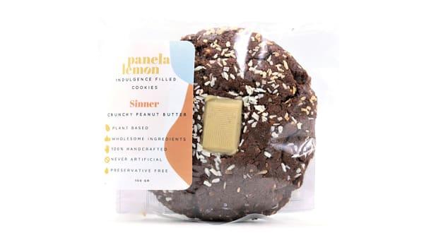 Sinner - Chocolate Cookie Stuffed with Crunchy Peanut Butter (Frozen)