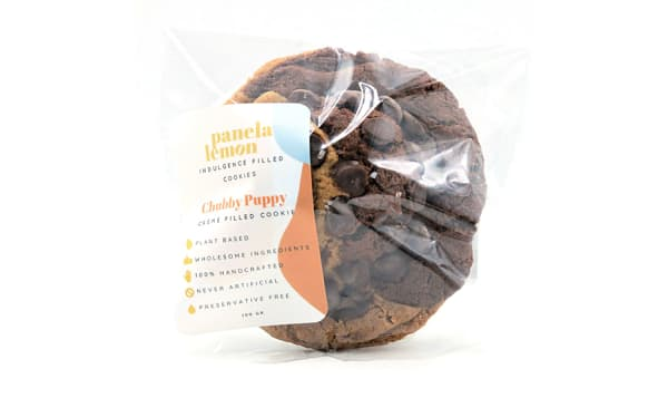 Chubby Puppy - Swirl Cookie Stuffed with Organic Crème (Frozen)