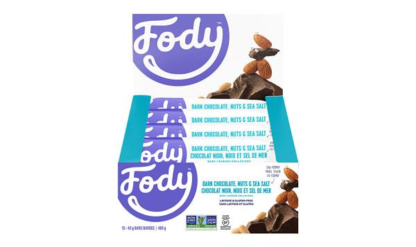 Dark Chocolate And Sea Salt Bars - Low FODMAP!