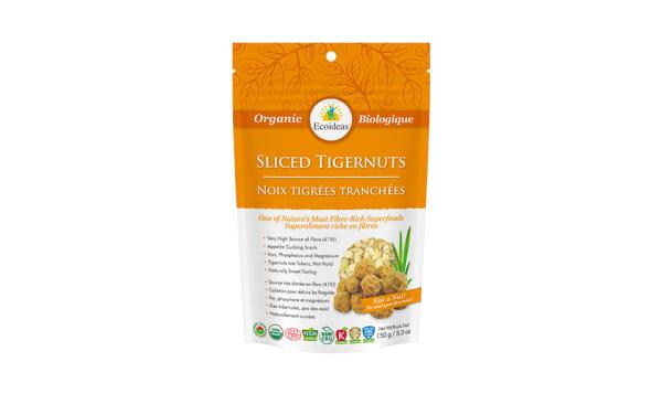 Organic Tigernuts - Sliced