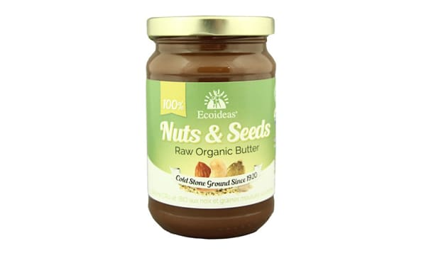 Organic Raw Nuts & Seeds
