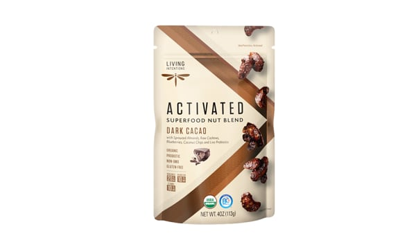 Organic Superfood Nut Blends - Dark Cacao, w/Live Cultures