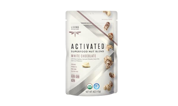 Organic Superfood Nut Blends - White Chocolate, w/Live Cultures