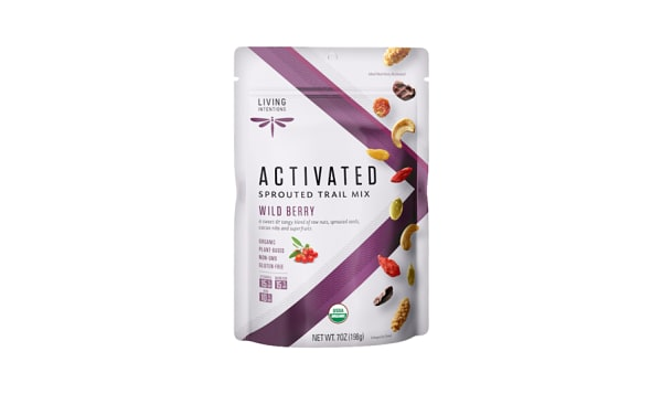 Organic Sprouted Trail Mix - Wild Berry