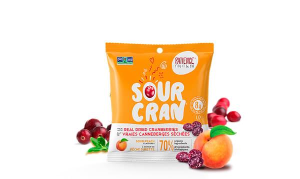 Organic Sour Cran Peach Candy