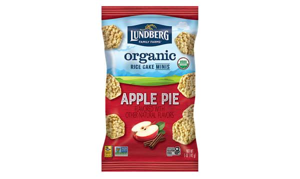 Organic Rice Cake Mini Apple Pie