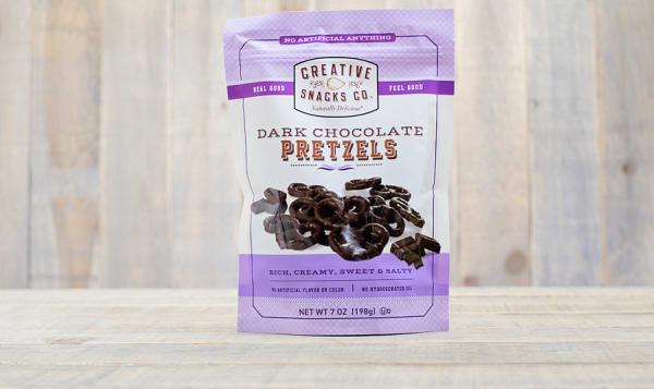 Dark Chocolate Pretzels