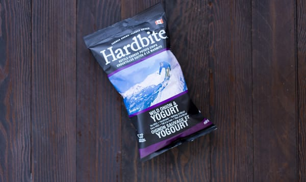 Hardbite Potato Chips, Wild Onion & Yogurt