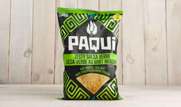 Zesty Salsa Verde Tortilla Chips
