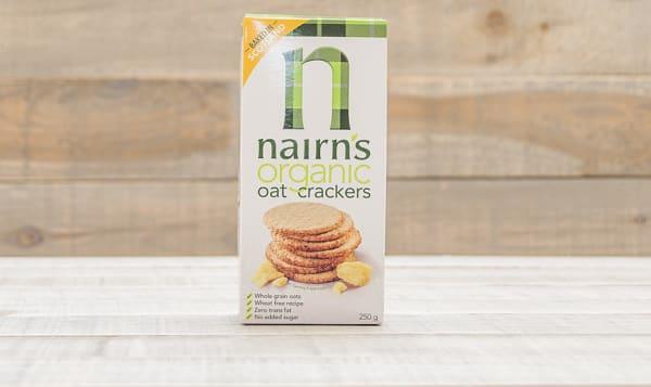 Organic Oatcake Cracker