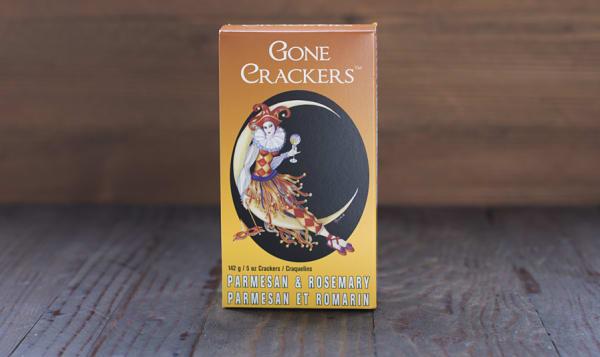 Parmesan & Rosemary Crackers