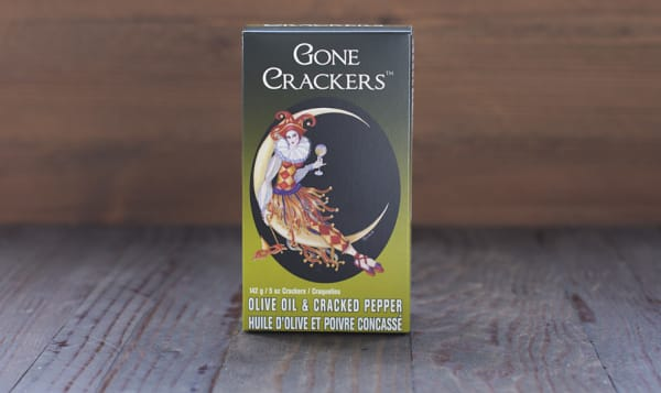 Olive Oil & Cracked Pepper Crackers