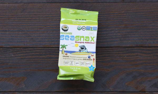 Organic SeaSnax Seaweed Grab & Go Wasabi