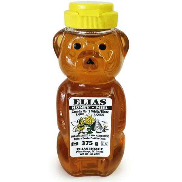 Canada No.1 White Liquid Honey in Bear Bottle