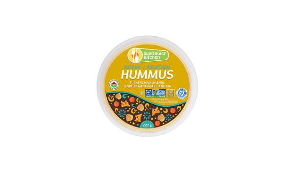 Organic Hummus - Turmeric Masala