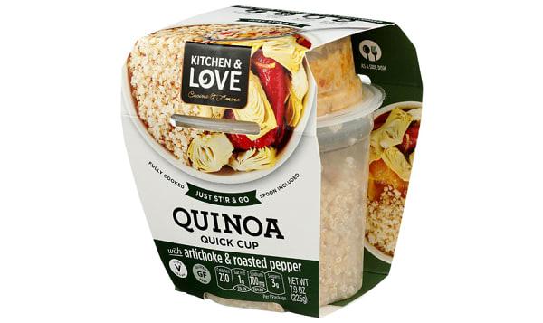 Quinoa Mango Roasted Red Pepper Spread