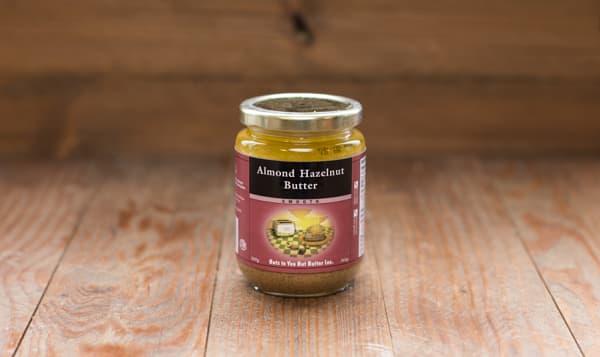 Almond Hazelnut Butter