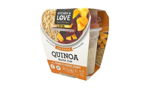 Quinoa Artichoke Roasted Red Pepper Spread