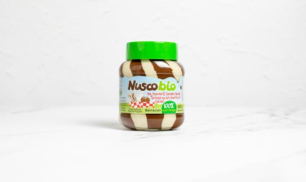 Organic Hazelnut & Milk Duo Choco