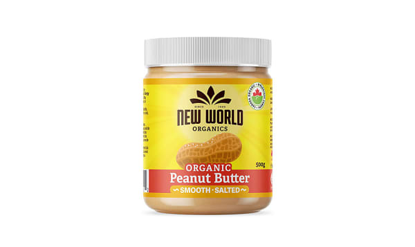 Organic Peanut Butter - Smooth, Salted