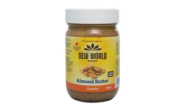Almond Butter - Crunchy