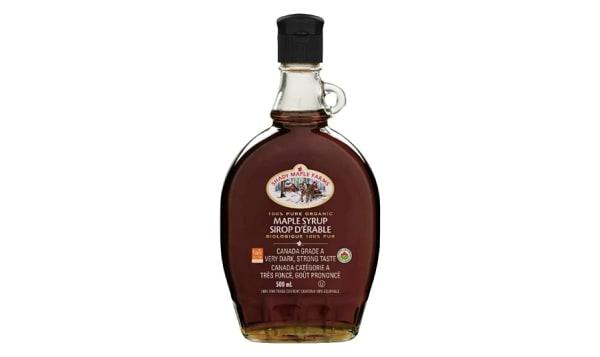 Organic Very Dark Maple Syrup, Robust