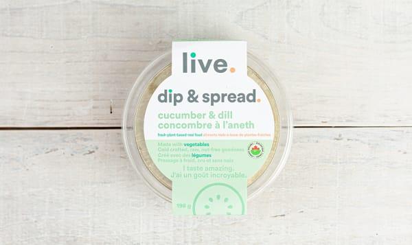 Organic Cucumber Dill Spread