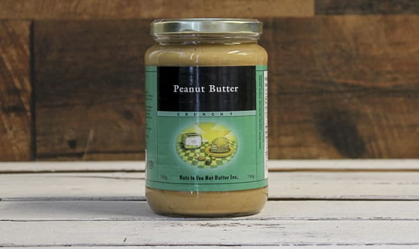 Blanched Crunchy Peanut Butter