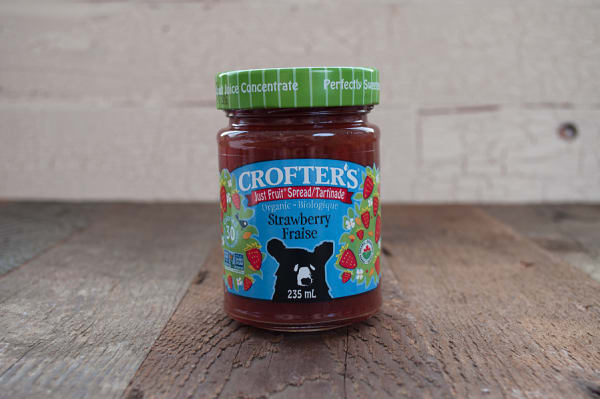 Organic Strawberry Just Fruit Spread (Non-GMO Certified)