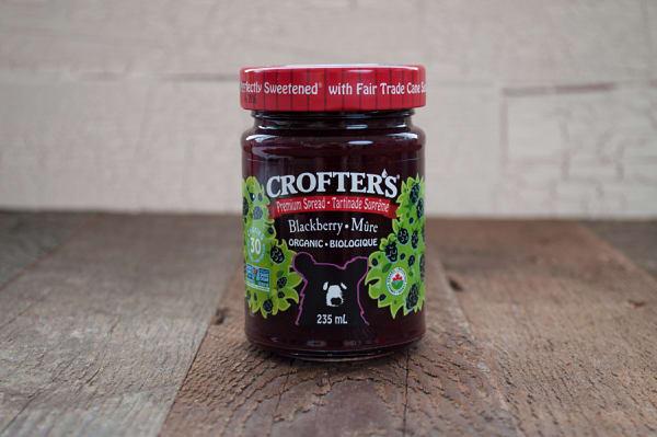 Organic Blackberry Premium Fruit Spread