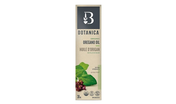Organic Oregano Oil Extra Strength 1:1