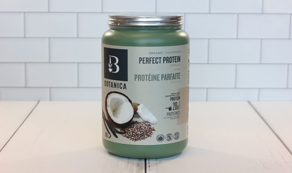 Organic Perfect Protein (Certified, Vegan) - Vanilla