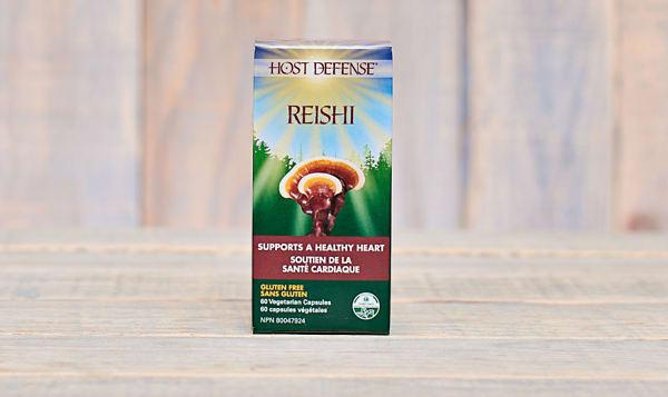 Organic Reishi (Ganoderma Lucidum) Capsules