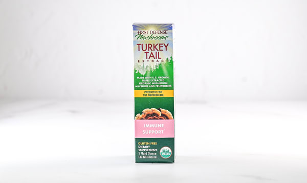 Organic Turkey Tail (Trametes Versicolor) Extract