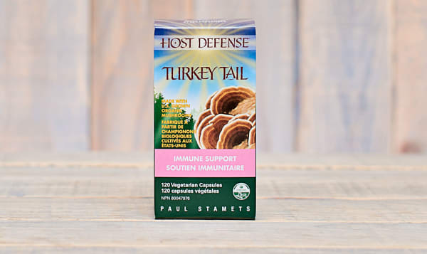 Organic Turkey Tail (Trametes Versicolor) Capsules
