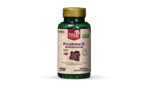 Forskolin Nx™ with Forslean® & Razbery-K®