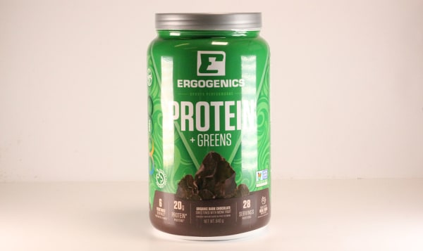 Organic Plant Protein + Greens - Chocolate