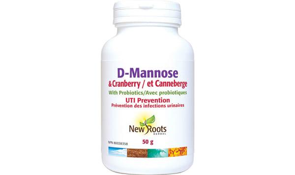 D-Mannose & Cranberry With Probiotics