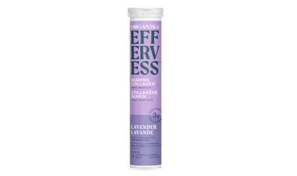 Effervess Collagen with Vitamin C Tablets - Lavender