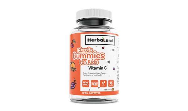 Classic Gummy for Kids: Vitamin C