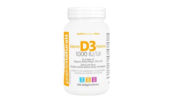 Vitamin D3 1000IU Cholecalciferol