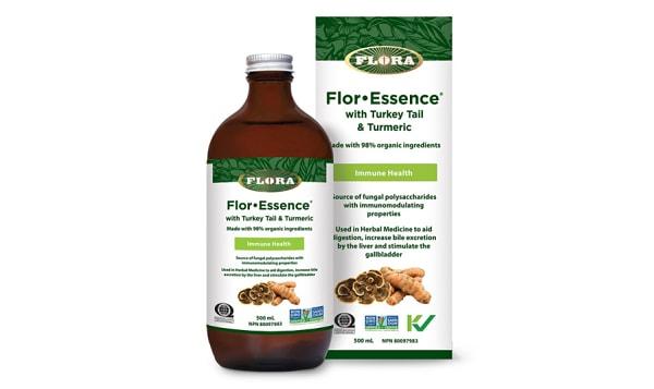 Organic FlorEssence with Turkey Tail & Turmeric