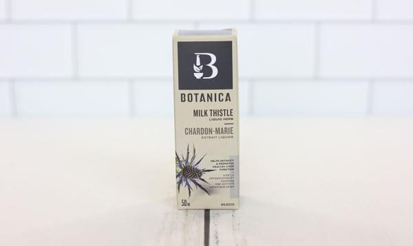 Milk Thistle Liquid Herb - Supports Liver Detoxification