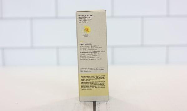 Organic Dandelion Root Liquid Herb - Supports Liver Detoxification