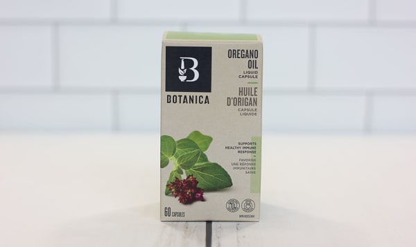 Organic Oregano Oil Liquid Capsules - Infection Resistance